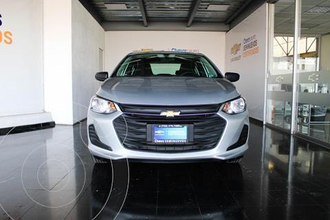 Chevrolet Onix LS usado (2021) color Plata Dorado precio $241,490