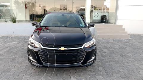 Chevrolet Onix Premier Aut usado (2021) color Negro precio $275,000
