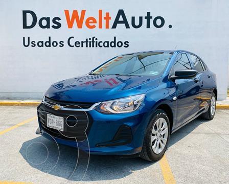 Chevrolet Onix 1.0 LS A TM usado (2021) color Azul precio $245,000