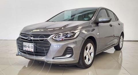 Chevrolet Onix Premier Aut usado (2021) color Gris Grafito financiado en mensualidades(enganche $68,676 mensualidades desde $9,465)