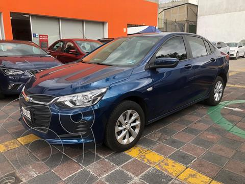 foto Chevrolet Onix LT usado (2021) color Azul precio $279,000