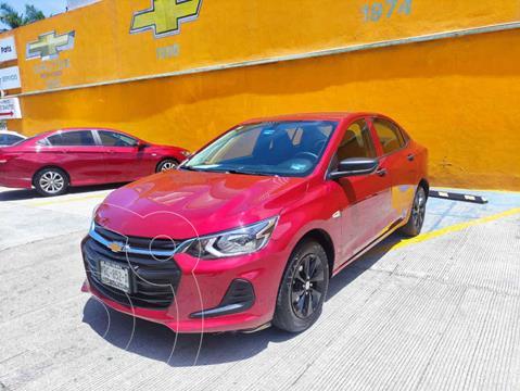 Chevrolet Onix LS usado (2021) color Rojo precio $255,000