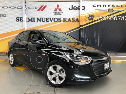 Chevrolet Onix Premier Aut usado (2021) color Negro precio $310,000