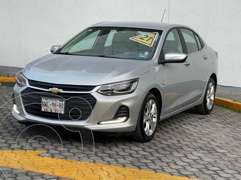 Chevrolet Onix Premier Aut usado (2021) color Plata precio $315,000
