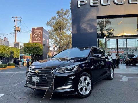 Chevrolet Onix Premier Aut usado (2021) color Negro precio $314,900
