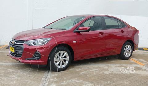 Chevrolet Onix LS usado (2021) color Rojo precio $298,000
