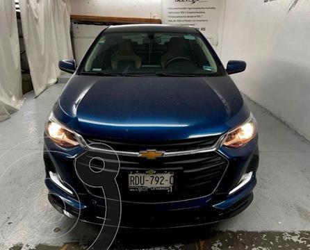 Chevrolet Onix Premier Aut usado (2021) color Azul precio $314,900