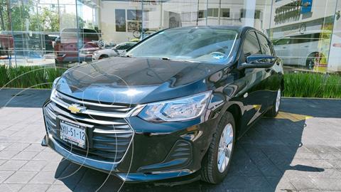 Chevrolet Onix LT Aut usado (2021) color Negro precio $295,000