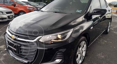 Chevrolet Onix Premier Aut usado (2021) color Negro financiado en mensualidades(enganche $64,000 mensualidades desde $6,583)