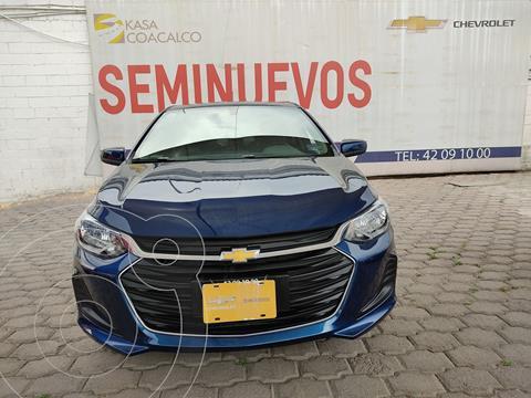 Chevrolet Onix LT usado (2021) color Azul precio $300,000