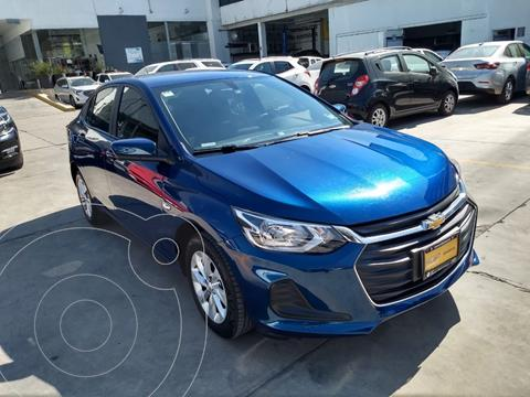 Chevrolet Onix LT usado (2021) color Azul precio $240,000