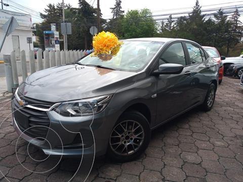 Chevrolet Onix LT usado (2021) color Gris precio $265,000