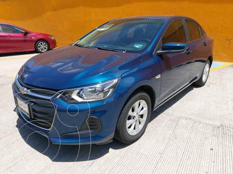 Chevrolet Onix LT usado (2021) color Azul precio $260,000