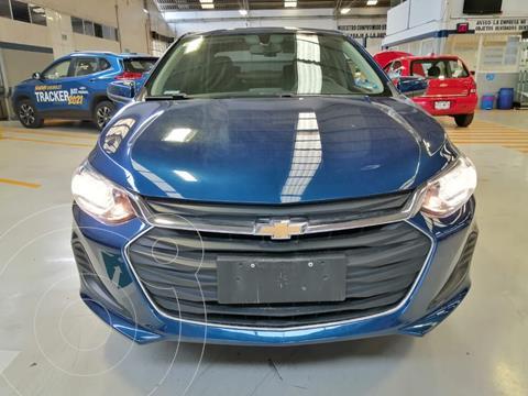 Chevrolet Onix LT usado (2021) color Azul precio $288,000