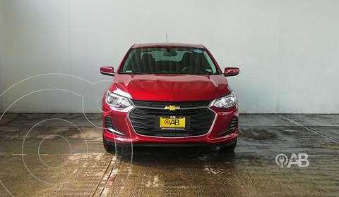 Chevrolet Onix LT usado (2021) color Rojo precio $280,000