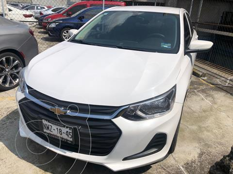 Chevrolet Onix 1.0 LS A TM usado (2021) color Blanco precio $245,000