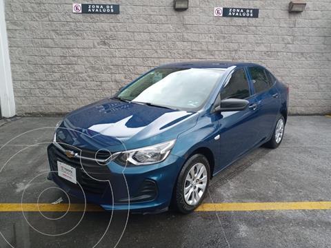 Chevrolet Onix LS usado (2021) color Azul precio $215,000