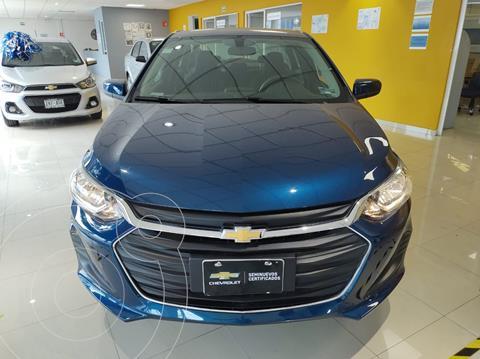 Chevrolet Onix LT Aut usado (2021) color Azul Acero precio $310,900