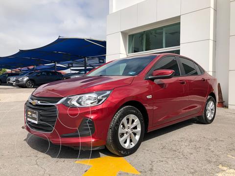 Chevrolet Onix LT usado (2021) color Rojo precio $357,500