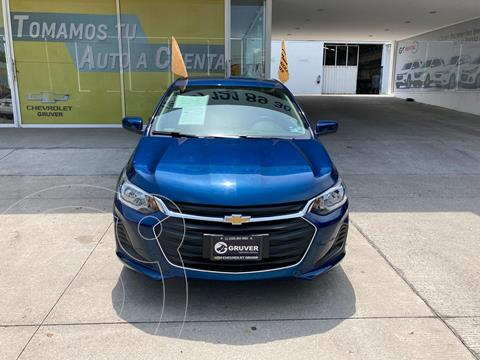 Chevrolet Onix LT usado (2021) color Azul precio $295,000