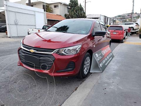 Chevrolet Onix LS usado (2021) color Rojo precio $224,000