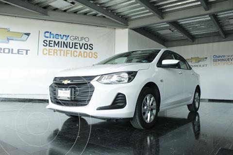 Chevrolet Onix LT usado (2021) color Blanco precio $290,000