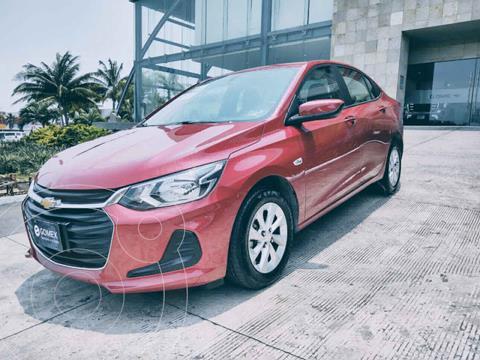 Chevrolet Onix LT usado (2021) color Rojo precio $265,000