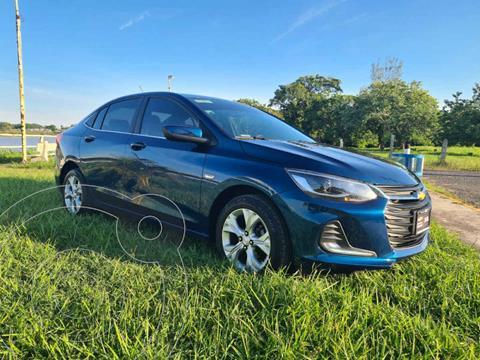 Chevrolet Onix Premier Aut usado (2021) color Azul precio $320,000