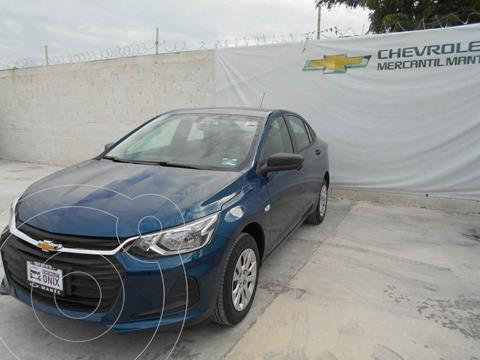Chevrolet Onix LS nuevo color Azul precio $272,400