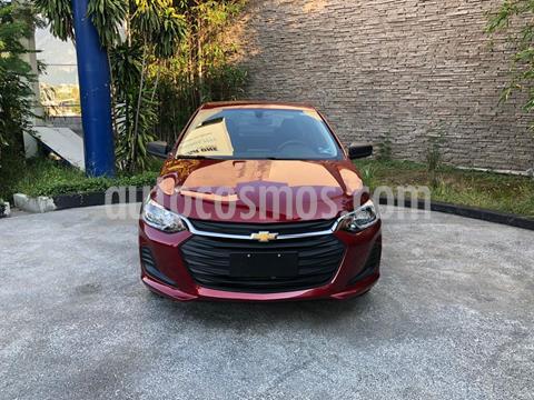 Chevrolet Onix LS Aut usado (2020) color Rojo precio $235,000