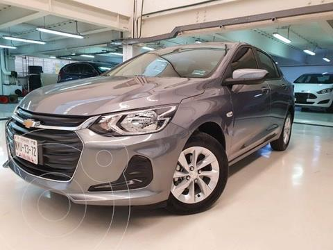 Chevrolet Onix LT usado (2021) color Gris Oscuro precio $259,100