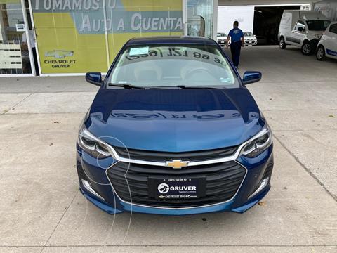 Chevrolet Onix Premier Aut usado (2021) color Azul precio $325,000