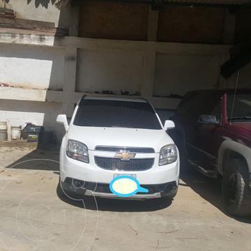 Chevrolet Orlando 2.4L Aut usado (2013) color Blanco precio BoF6.000