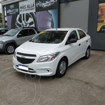 Chevrolet Prisma Joy LS usado (2018) color Blanco precio $1.750.000