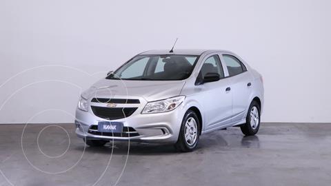 Chevrolet Prisma Joy LS + usado (2019) color Plata precio $1.450.000