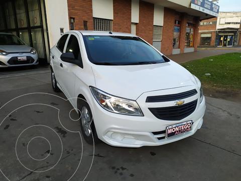 Chevrolet Prisma Joy LS + usado (2018) color Blanco precio $1.190.000