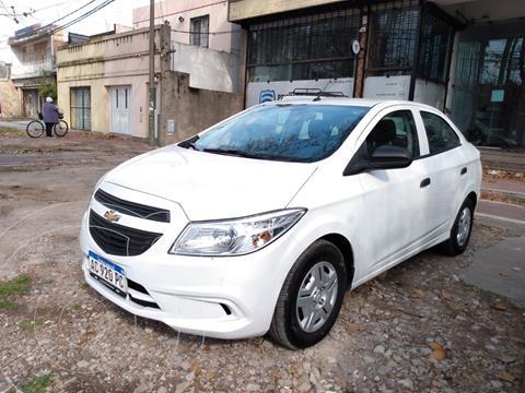 Chevrolet Prisma Joy LS + usado (2018) color Blanco financiado en cuotas(anticipo $820.000)