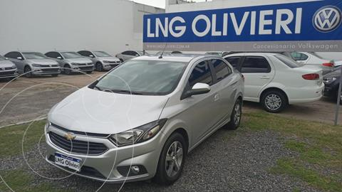 Chevrolet Prisma LTZ usado (2018) color Gris Plata  precio $1.950.000
