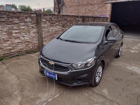 Chevrolet Prisma LT usado (2017) color Gris Oscuro precio $1.175.000