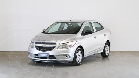 Chevrolet Prisma LT usado (2017) color Gris Plata  precio $1.170.000