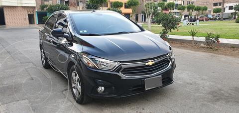 Chevrolet Prisma 1.4L LTZ Aut  usado (2017) color Negro precio u$s9,000