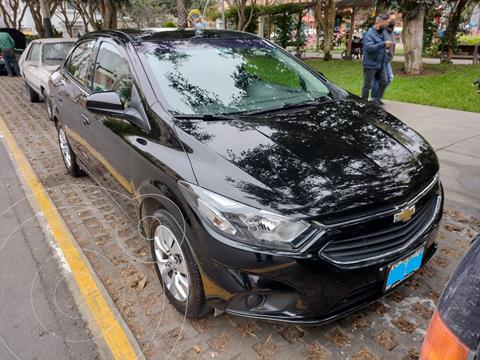 Chevrolet Prisma 1.4L LT  usado (2020) color Negro precio u$s10,300