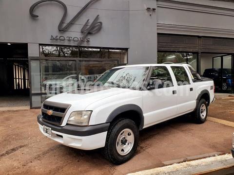 Chevrolet S 10 DLX 2.8 TD 4x2 CD usado (2009) color Blanco precio $890.000