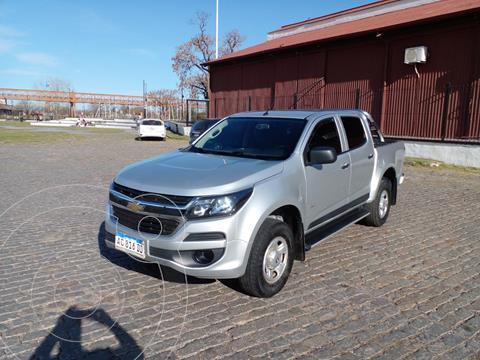 Chevrolet S 10 LS 2.8 4x2 CD usado (2018) color Gris precio $3.200.000