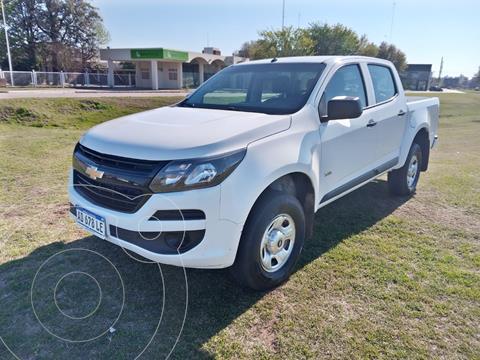Chevrolet S 10 LS 2.8 4x2 CD usado (2019) color Blanco precio $3.500.000