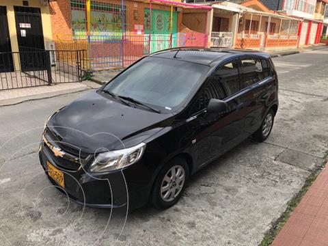 Chevrolet Sail Hatchback 1.4 LT  usado (2014) color Negro precio $25.000.000