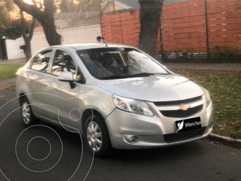 Chevrolet Sail LT 1.4  usado (2015) color Gris precio $7.090.000