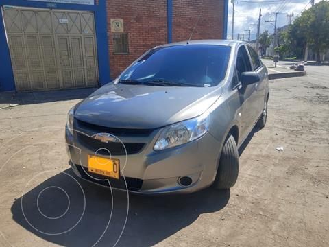 Chevrolet Sail LS usado (2017) color Gris Galapagos precio $27.500.000