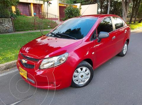 Chevrolet Sail LS Aa usado (2013) color Rojo precio $23.700.000