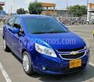 Chevrolet Sail LTZ  usado (2017) color Azul Metalico precio $31.800.000